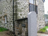 Granite Gatepost